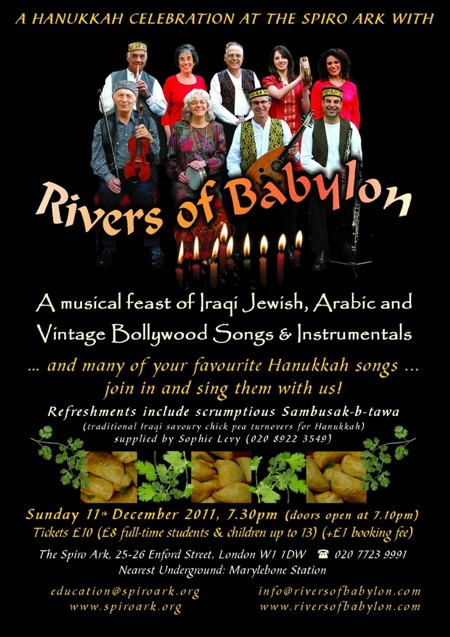 Rivers of Babylon - upcoming events